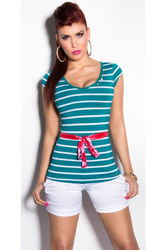 Baltos spalvos suknelė dekoruota kutais_203813