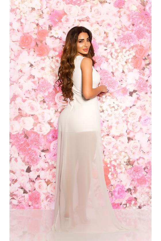 Baltos spalvos ilga suknelė 8984_204469