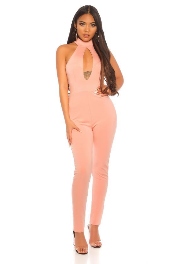 Baltos spalvos ilga suknelė 8586