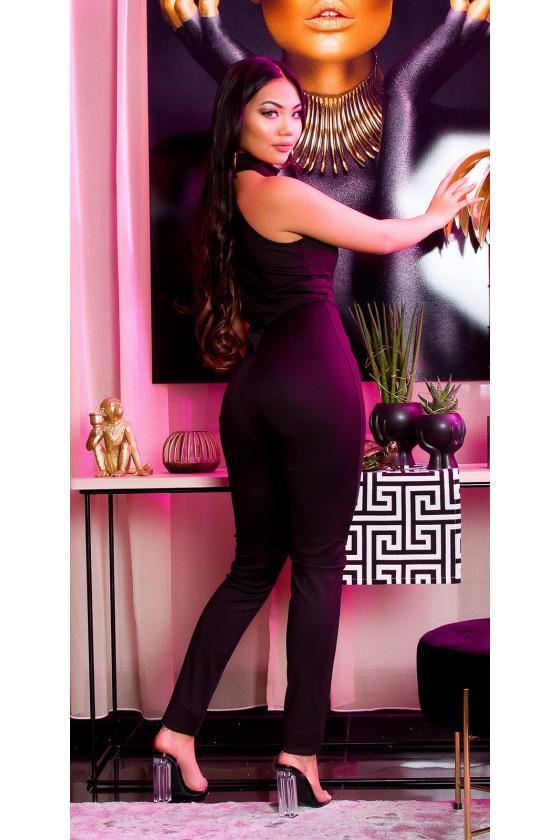 Raudonos spalvos oversize suknelė FK572_204495