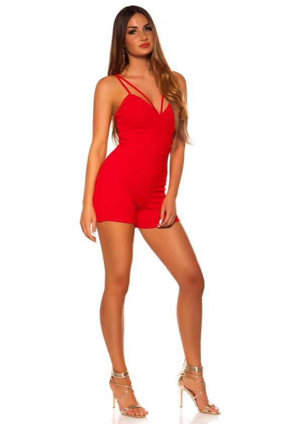 Bordinės spalvos plius dydžių suknelė_204575