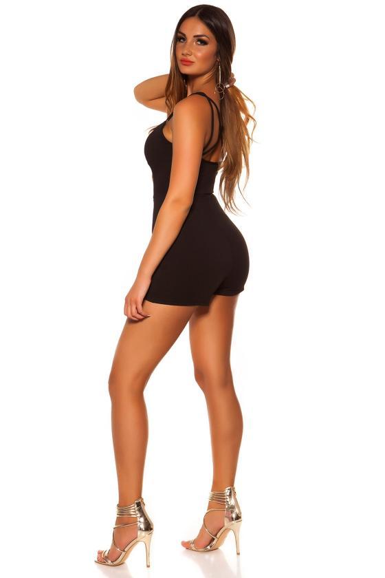 Tamsiai mėlynos spalvos plius dydžių suknelė