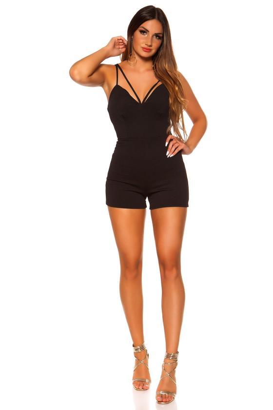 Tamsiai mėlynos spalvos plius dydžių suknelė_204587
