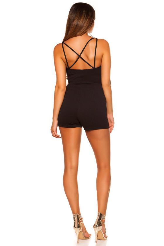 Tamsiai mėlynos spalvos plius dydžių suknelė_204588