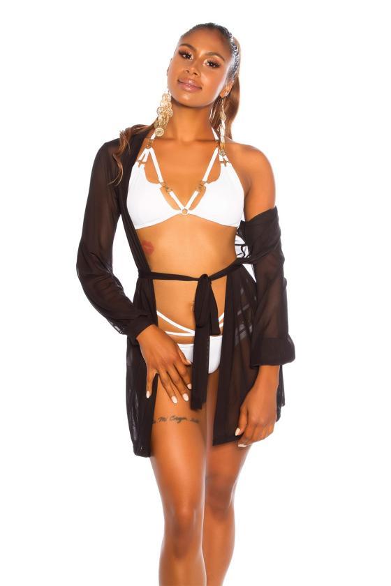 Žalios spalvos laisvalaikio suknelė FI636_204804