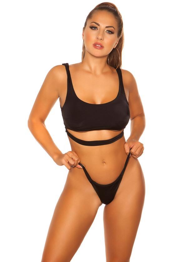 Raudonos spalvos trijų dalių kostiumas FI640_204832