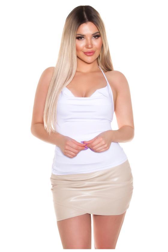 Juodos spalvos maxi satininė suknelė