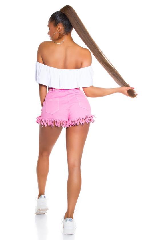 Žalios spalvos gėlėtas dviejų dalių kostiumas_205227