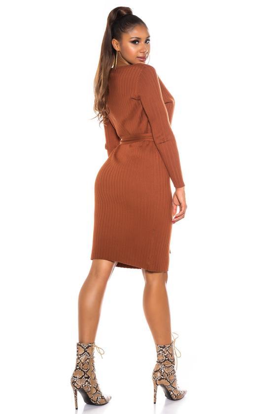 Bronzos spalvos dviejų dalių maudymosi kostiumėlis_205800