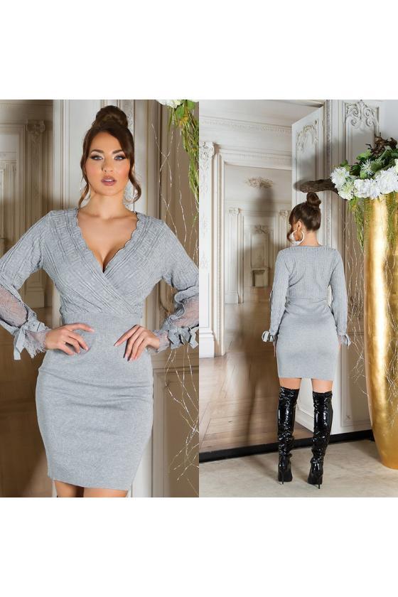 Oranžinės spalvos vasariška suknelė_206129