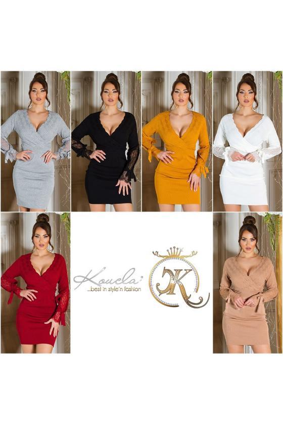 Oranžinės spalvos vasariška suknelė