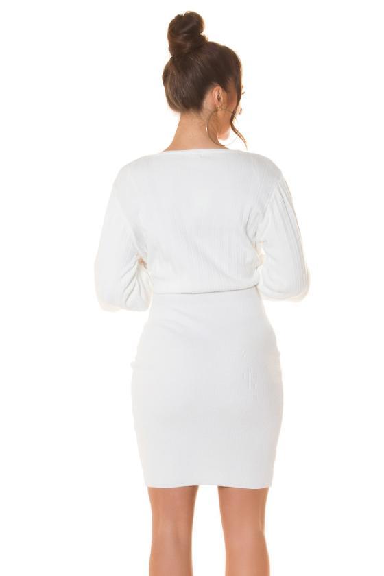 Koralų spalvos polo suknelė_206874