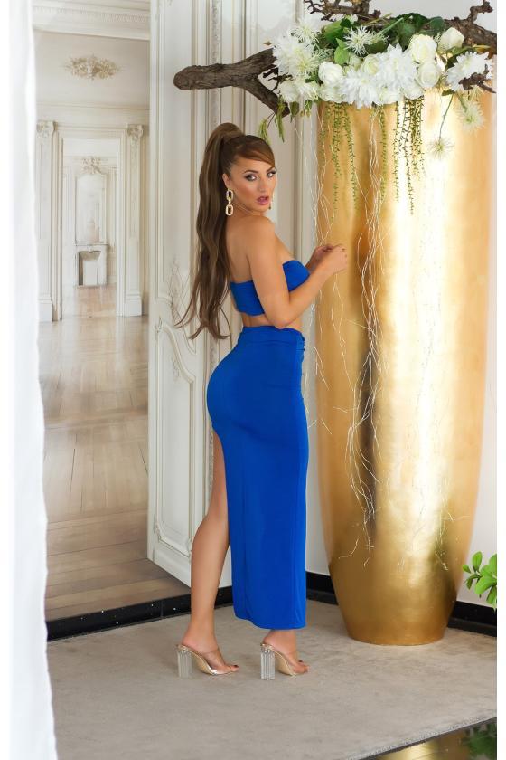 Baltos spalvos platėjančios kelnės