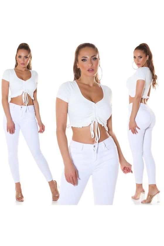 Juodos spalvos suknelė su džinso detalėmis_209104