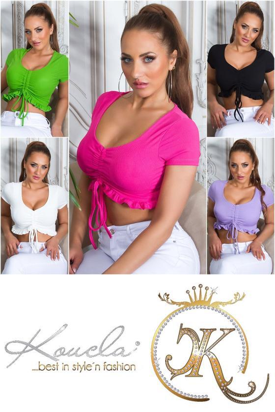 Juodos spalvos suknelė su džinso detalėmis_209105