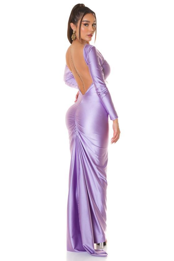 Rausvos spalvos suknelė su baltais taškeliais 91593_209170