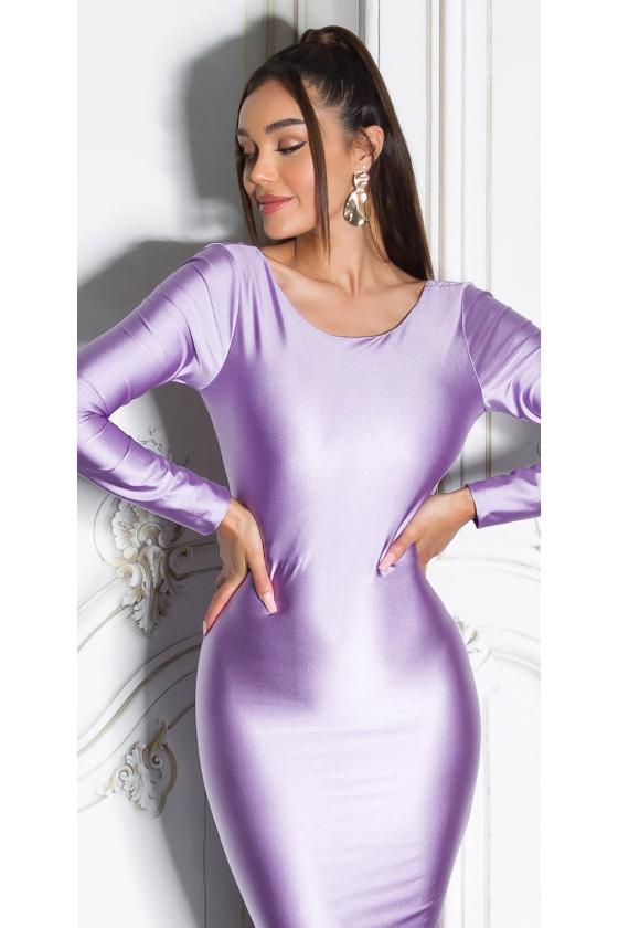 Žalios spalvos suknelė su baltais taškeliais 91593_209181