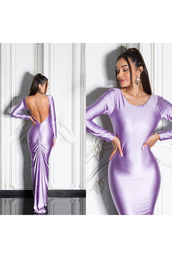 Žalios spalvos suknelė su baltais taškeliais 91593_209182