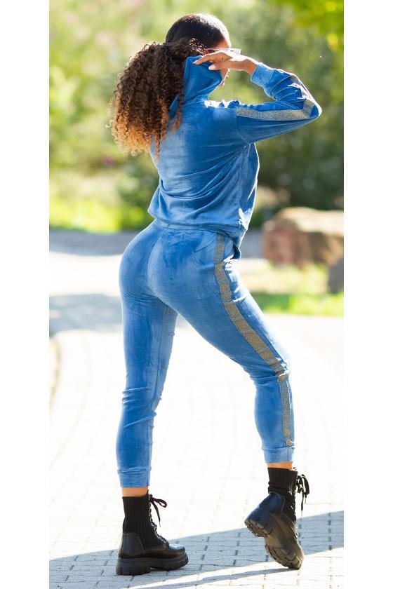 Chaki spalvos sijonas dekoruotas sagomis_209247