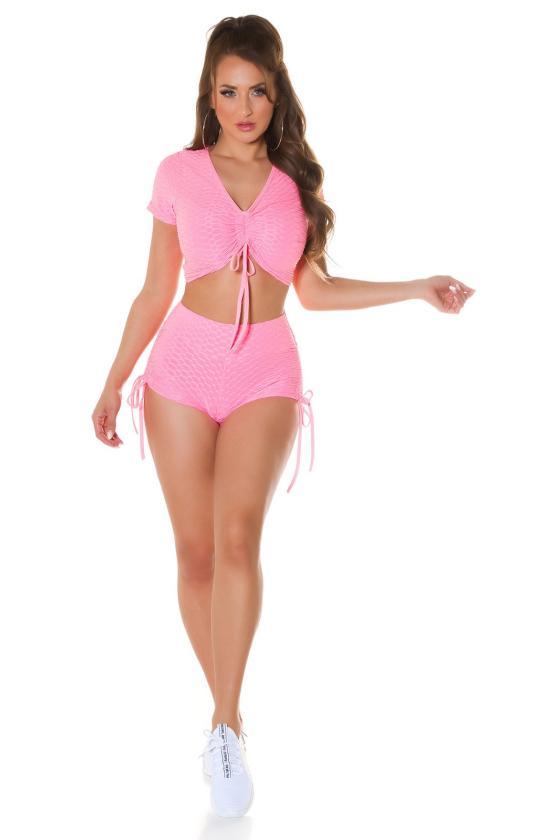 Juodos spalvos sijonas dekoruotas sagomis_209255