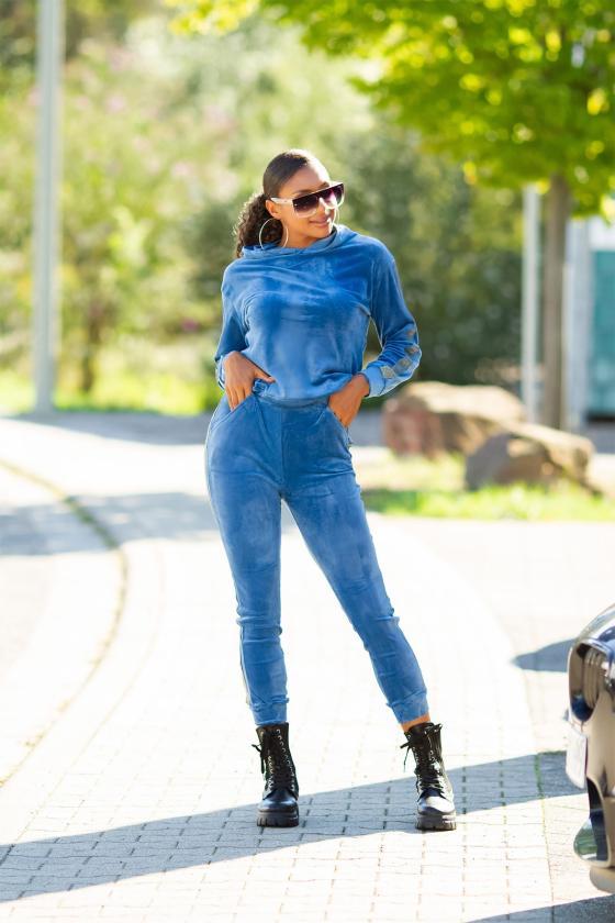 Smėlio spalvos sijonas dekoruotas sagomis_209269