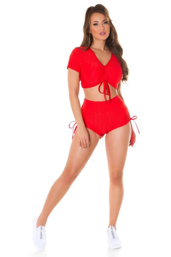 Smėlio spalvos sijonas dekoruotas sagomis_209271