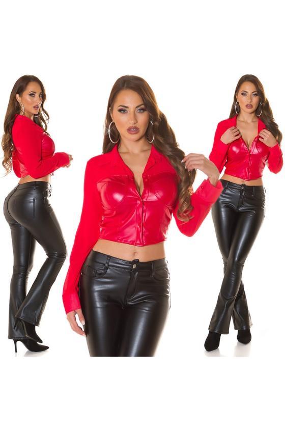 Rausvos spalvos suknelė 2206 Bicotone_212068
