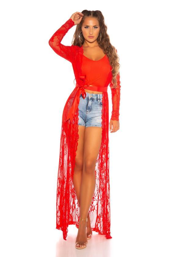 Rausvos spalvos suknelė 2139 Bicotone