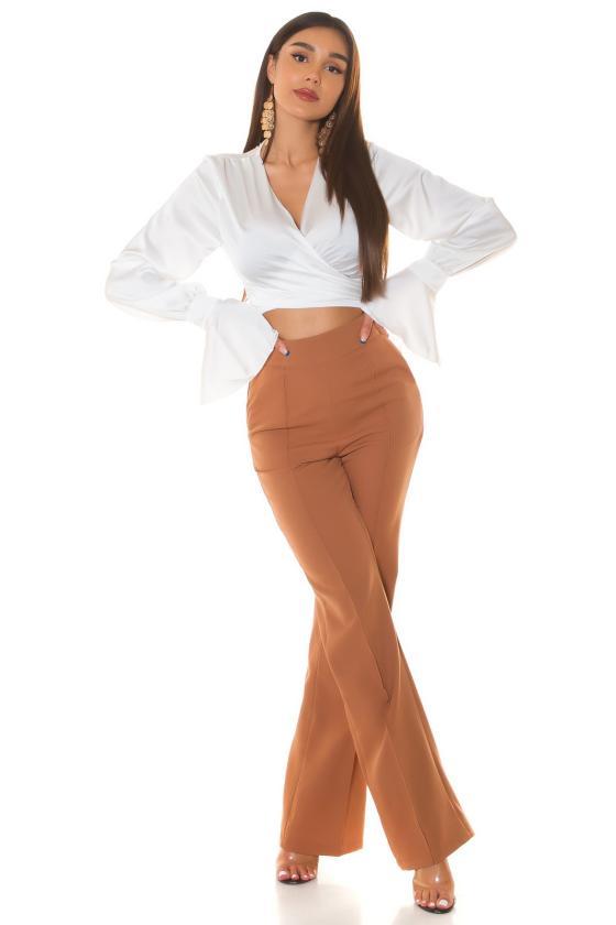 Rausvos spalvos suknelė 2139 Bicotone_212125