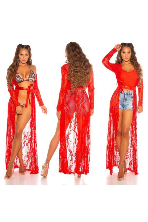 Rausvos spalvos suknelė 2139 Bicotone_212126