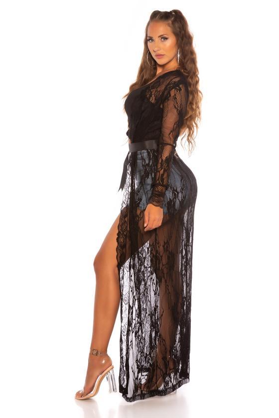 Rausvos spalvos suknelė 2212 Bicotone_212165