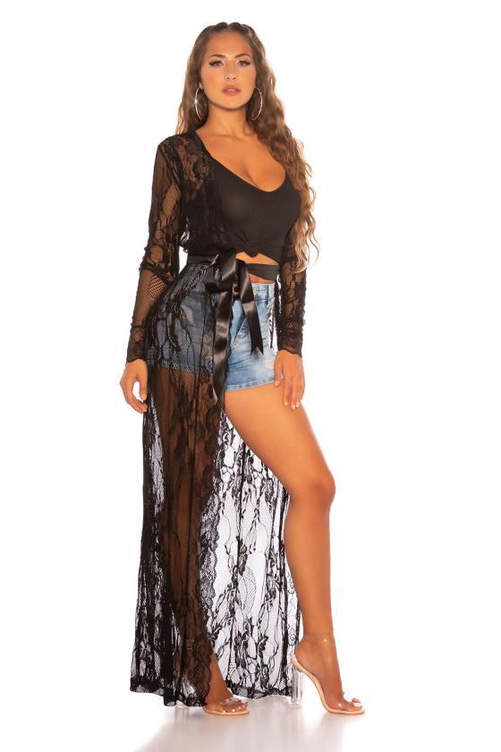 Rausvos spalvos suknelė 2212 Bicotone_212167