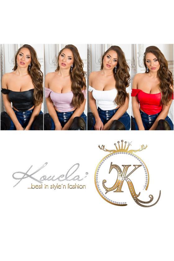 Violetinės spalvos palaidinė su nėriniais 02233_212366
