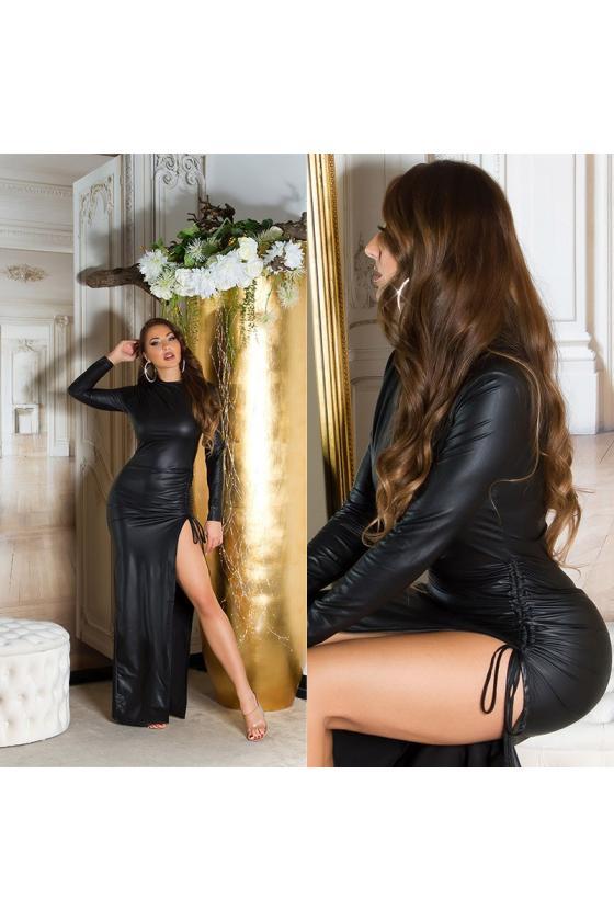 Mėlynos spalvos trumpinti džinsai žemu liemeniu_212507