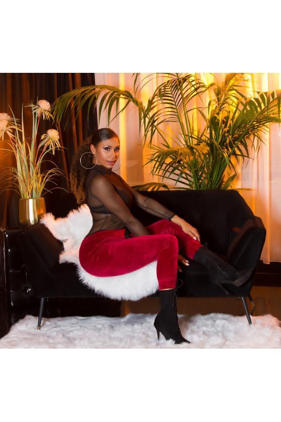 Fuksijų spalvos suknelė Bicotone 2209