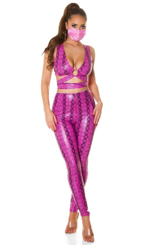 Tamsiai mėlynos spalvos gipiūrinė suknelė