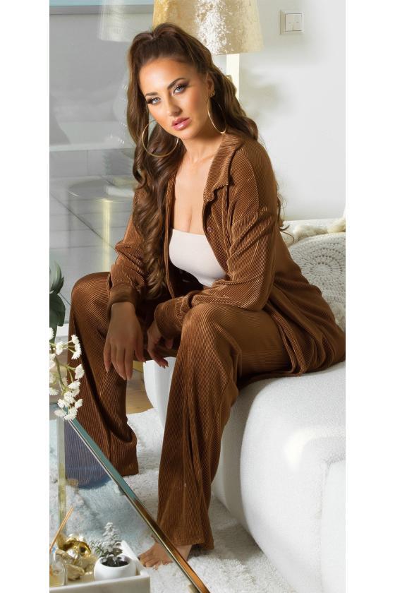 Juodos spalvos trumpas odos imitacijos sijonas_213215