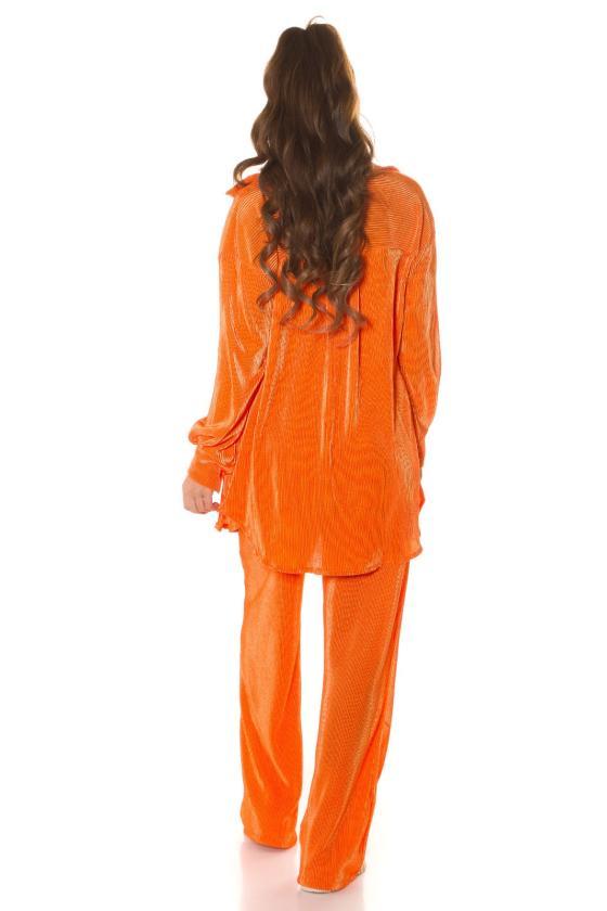 Rausvos spalvos suknelė 2222 Bicotone_213363