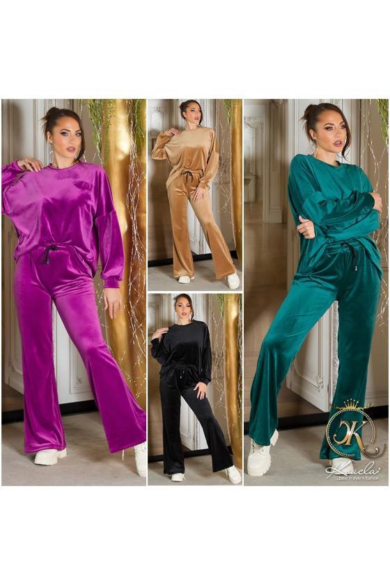 Žalios spalvos ilgi marškiniai