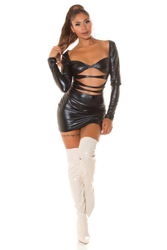 Pilkos spalvos džinsai aukštu juosmeniu_214528