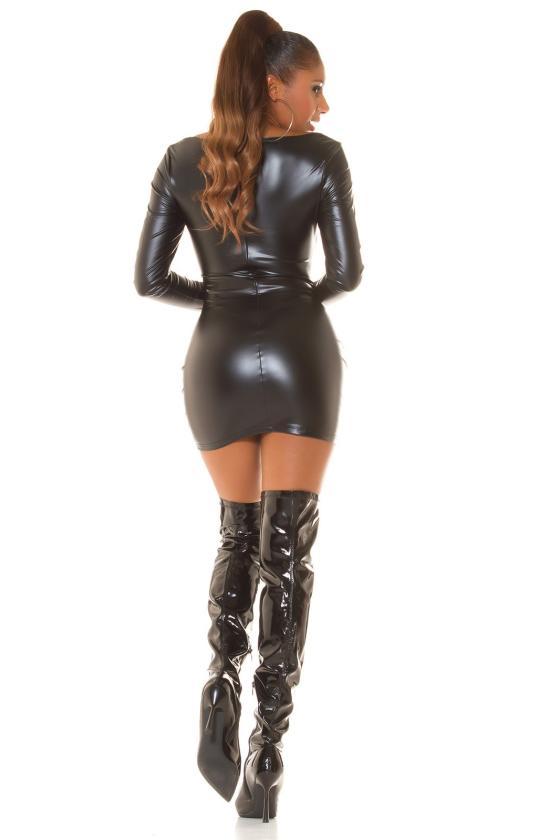 Geltonos spalvos ilgas kardiganas 2019-1_214597