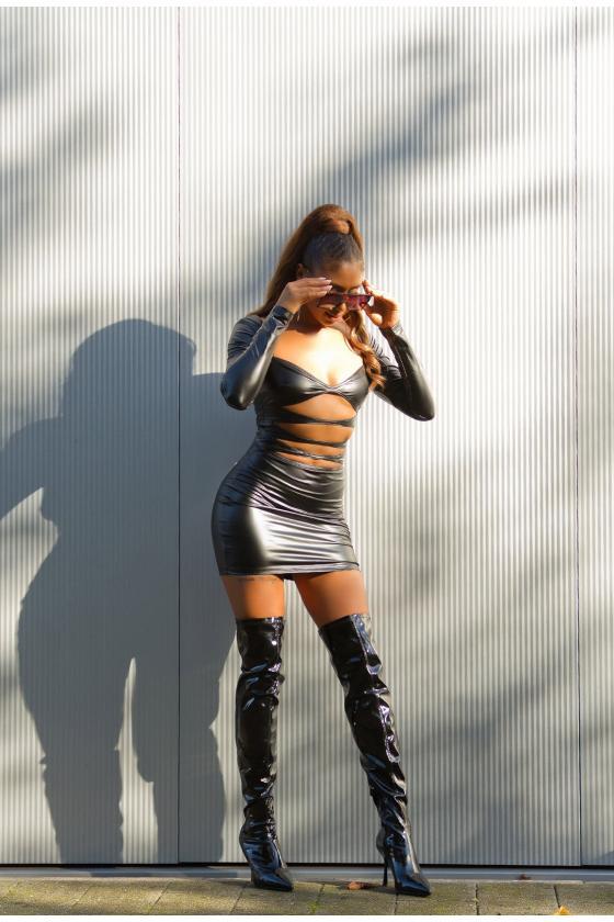 Geltonos spalvos ilgas kardiganas 2019-1_214598
