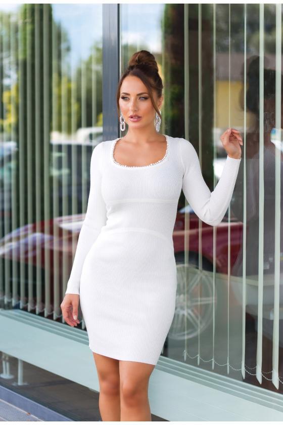 """Ilga rausvos spalvos suknelė """"Amber""""_215253"""