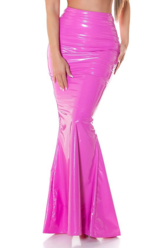 """Ilga rausvos spalvos suknelė """"Amber""""_215254"""