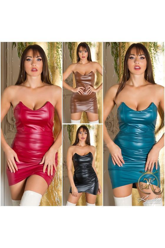 """Ilga rausvos spalvos suknelė """"Amber""""_215255"""