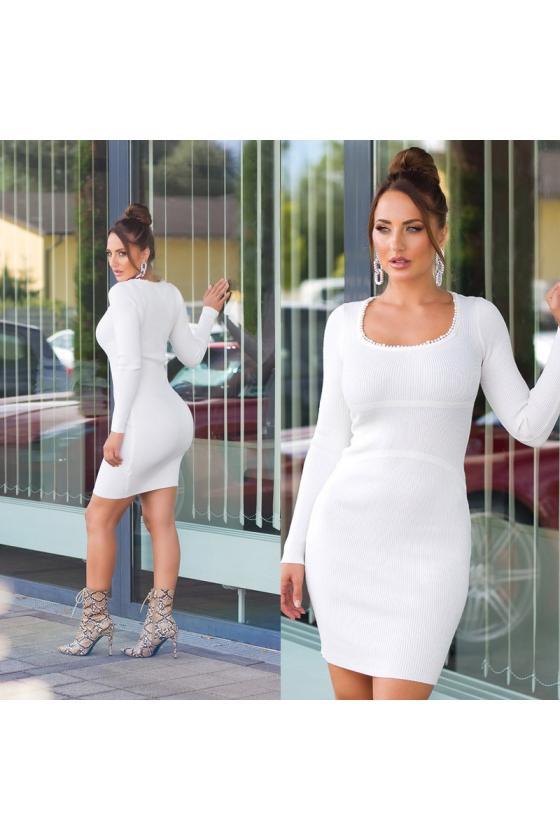 """Ilga mėlynos spalvos suknelė """"Amber"""""""