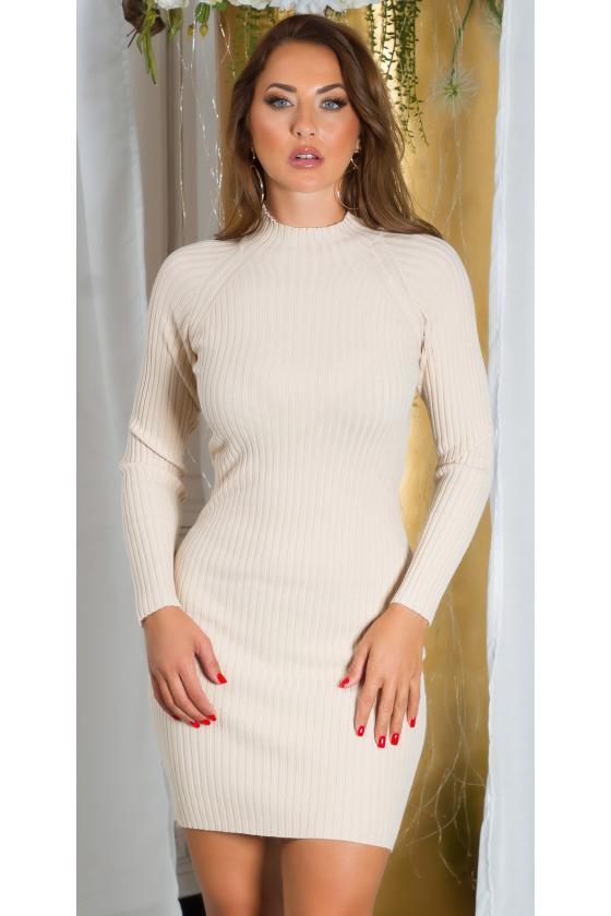 Karališkos mėlynos spalvos suknelė MARTA_215305