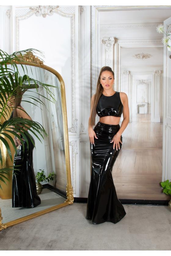 Karališkos mėlynos spalvos suknelė MARTA
