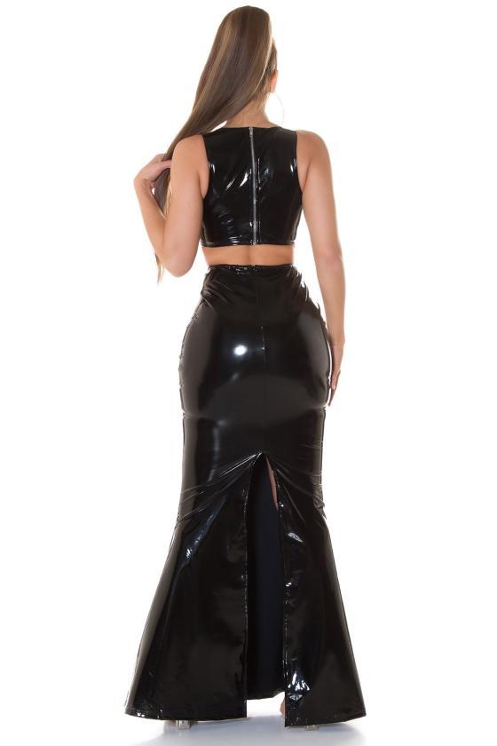 Persiko spalvos suknelė MARTA