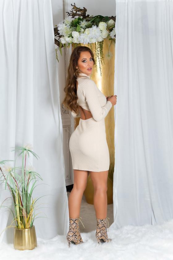 Pilkos spalvos suknelė MARTA_215313